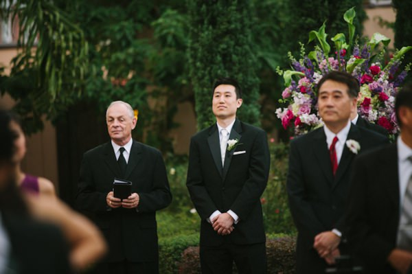 Wedding Ceremony and Reception at The Parador in Houston